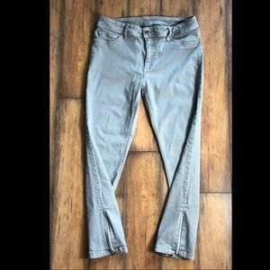 DL1961 Gray Instasculp Crop Skinny Stretch Jeans